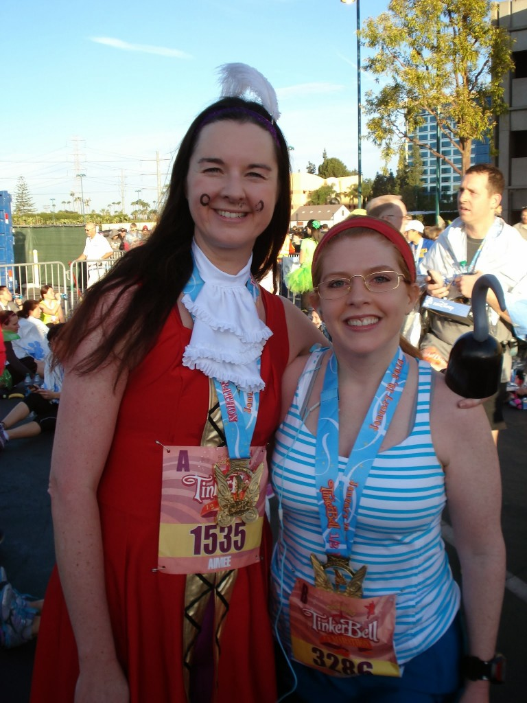 2014 Tinkerbell Half Marathon - Captain Hook & Mr Smee