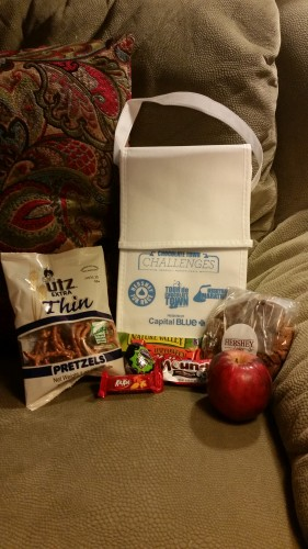 Hershey Half Marathon snack bag