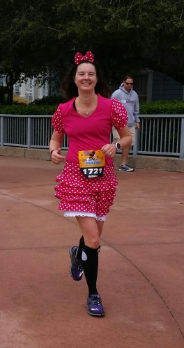 pink minnie mouse running costume